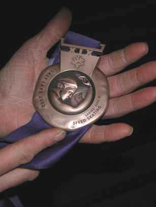 Yes, I've fondled a bronze medal and you haven't