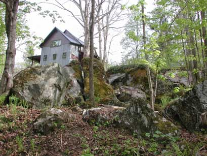 Some of the rocks.